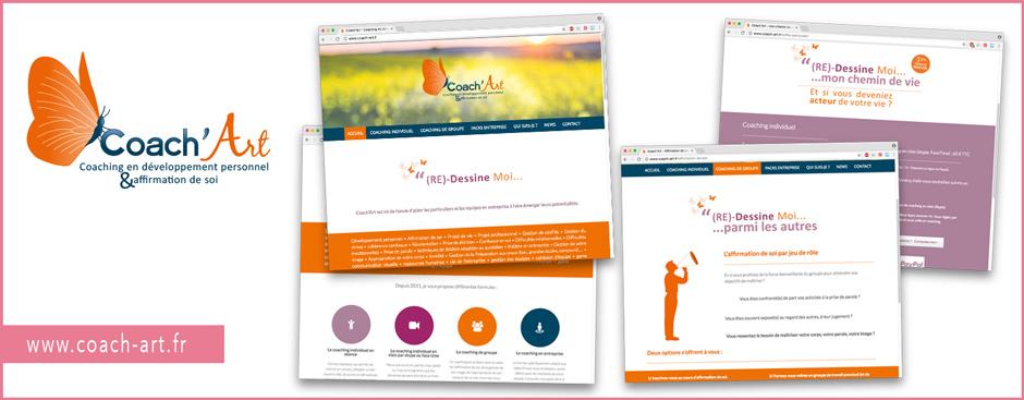 Création de site web : www.coach-art.fr